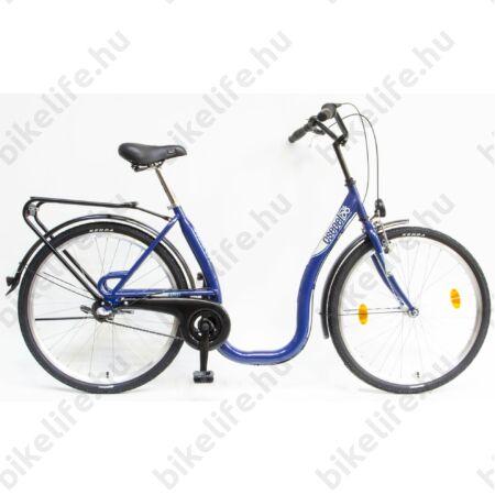 """Csepel Budapest C 26""""-os városi kerékpár, Nexus 3 sebességes agyváltó, kék, extra alacsony"""