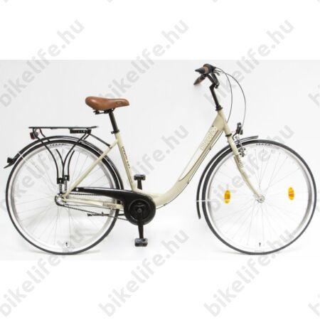 """Csepel Budapest B 26""""-os városi kerékpár, Nexus 3 sebességes agyváltó, barna"""