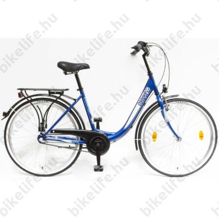 """Csepel Budapest B 26""""-os városi kerékpár, Nexus 3 sebességes agyváltó, sötétkék"""