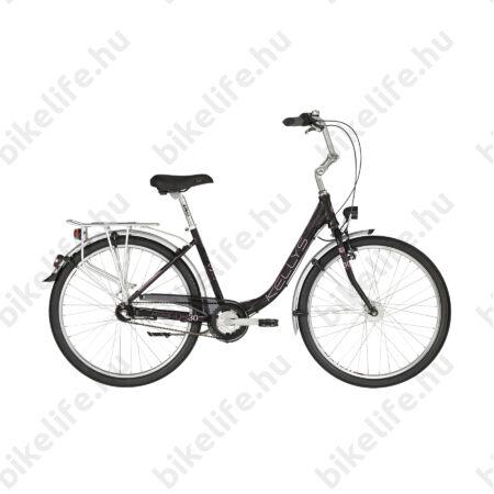 """Kellys Avenue 30 2019 26""""-os city kerékpár,Shimano N3 agyváltó, agydinamó, alu. váz, 430mm-es méret"""