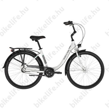 """Kellys Avery 30 White 26""""-os city kerékpár,Shimano Nexus3 agyváltó, agydinamó 43cm-es méret"""