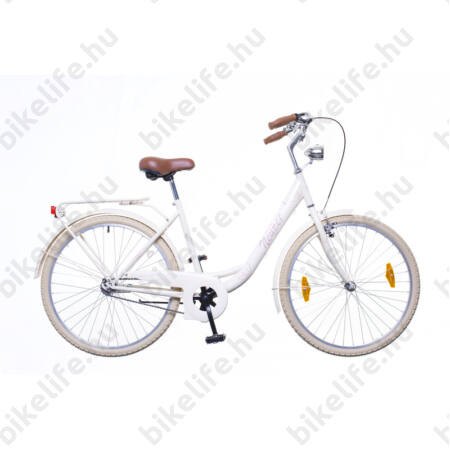 """Neuzer Balaton 26""""-os city kerékpár kontrafékes krém/barna"""