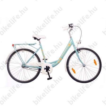 Neuzer Balaton Plus limitált kontrás 26-os city kerékpár celeste