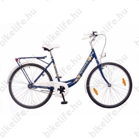 Neuzer Balaton Plus limitált kontrás 26-os city kerékpár sötétkék
