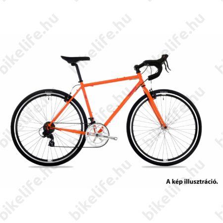 """Csepel Rapid 3* 28"""" cyclocross kerékpár, matt narancs színű, 54 cm"""