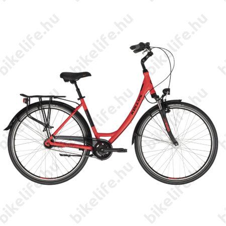 """Kellys Avery 90 Red 28""""-os városi kerékpár 7 fokozatú Nexus agyváltó, agydinamó, 43cm"""