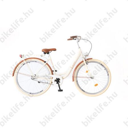 """Neuzer Balaton Prémium agyváltós 28""""-as kerékpár krémszínű Nexus 3 kontrafékes agyváltóval"""