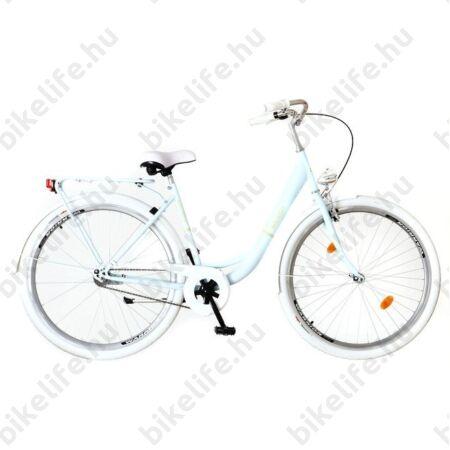 """Neuzer Balaton Prémium agyváltós 28""""-as kerékpár babakék Nexus 3 kontrafékes agyváltóval"""