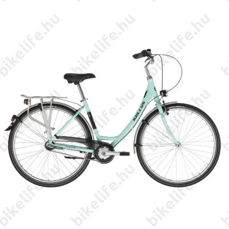 """Kellys Avery 20 Turquise 28""""-os városi kerékpár 3 fokozatú Shimano Nexus agyváltó, 48cm"""