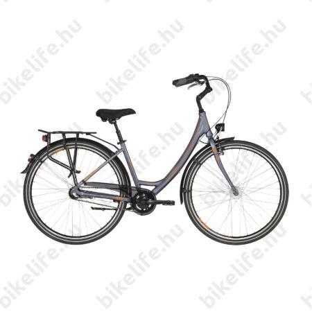 """Kellys Avenue 50 2019 28""""-os városi kerékpár 3 fokozatú Shimano Nexus agyváltó, agydinamó, 48cm"""