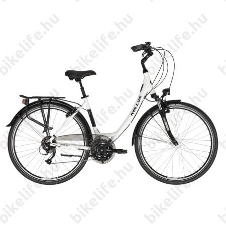"""Kellys Avery 70 White 28""""-os városi kerékpár 24 fok. Shimano Altus váltó, Nexus agydinamó, 48cm"""