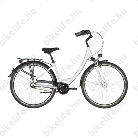 """Kellys Avenue 90 2017 28""""-os városi kerékpár 7 sebességes Nexus agyváltó, agydinamó, 43cm"""