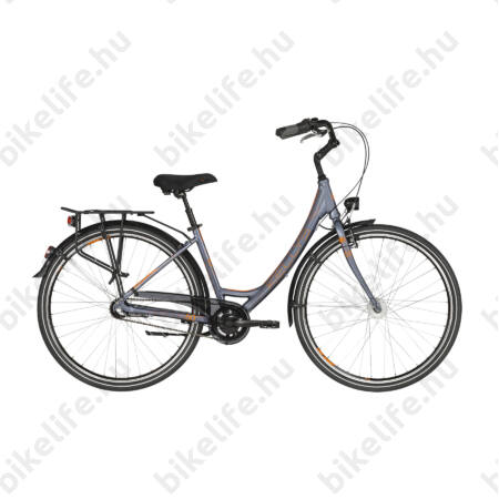 """Kellys Avenue 50 2019 28""""-os városi kerékpár 3 fokozatú Shimano Nexus agyváltó, agydinamó, 43cm"""
