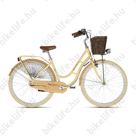"""Kellys Arwen Dutch Beige 28""""-os holland jellegű városi kerékpár 3 fokozatú Nexus agyváltó, 46cm"""