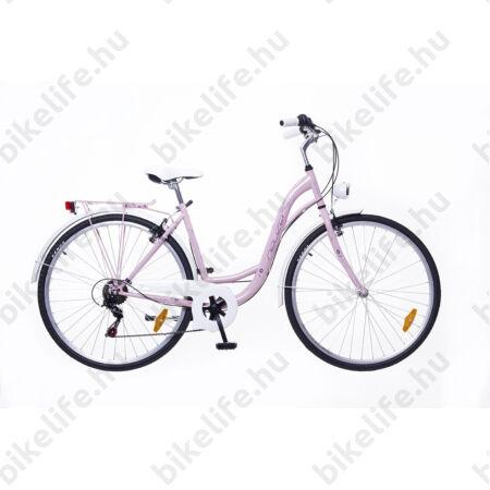"""Neuzer Ravenna 6 Plus Limitált modell 28"""" 6fokozat színrefestett tartozékok rózsaszín 19"""""""