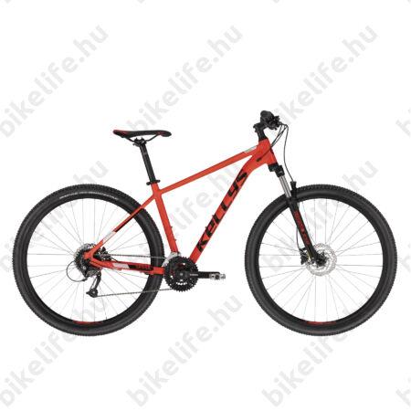 """Kellys Spider 50 Red 29""""-os MTB kerékpár 3x8 fokozatú Shimano Altus váltó, Hidr. DISC, M"""