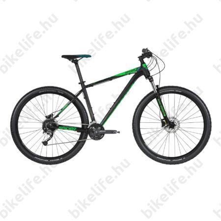 """Kellys Spider 70 2019 29""""-os MTB kerékpár 27fok. Shimano Alivio váltó, DISC, M/19"""""""