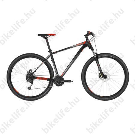 """Kellys Spider 10 Black 2019 29""""-os MTB kerékpár 24fok. Shimano Altus váltó, mech. DISC, M/19,5"""""""