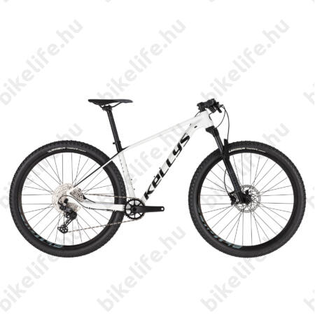 """Kellys Gate 30 White 29""""-os MTB kerékpár 1x12 fokozatú Deore váltó, levegős Rock Shox 100mm villa, M"""