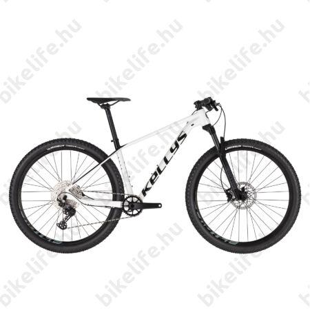 """Kellys Gate 30 White 29""""-os MTB kerékpár 1x12 fokozatú Deore váltó, levegős Rock Shox 100mm villa, S"""