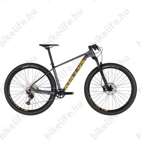 """Kellys Gate 30 Dark 29""""-os MTB kerékpár 1x12 fokozatú Deore váltó, levegős Rock Shox 100mm villa, L"""