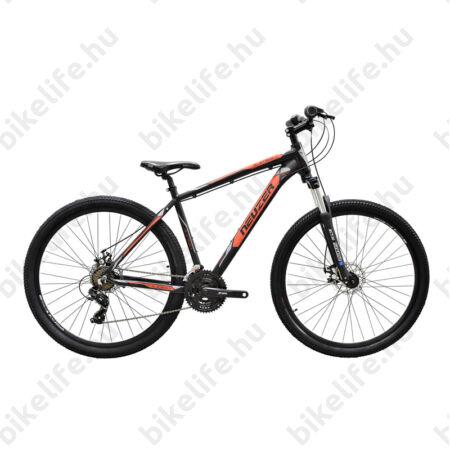 """Neuzer Jumbo Hobby 29""""-os MTB kerékpár 21 fokozatú Shimano TX35 váltó, fekete/piros-szürke, 19"""""""