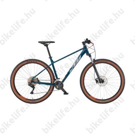 """KTM Ultra Flite 29""""-os MTB kerékpár 20 fokozatú Shimano Deore váltó, hidr.tárcsafék, fehér (fek/fire) 17"""""""