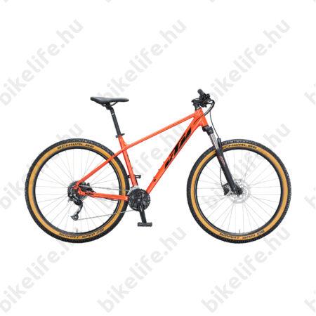 """KTM Chicago 29""""-os MTB kerékpár 2x9 Shimano Altus váltó, hidraulikus tárcsafék, fire orange 15"""""""