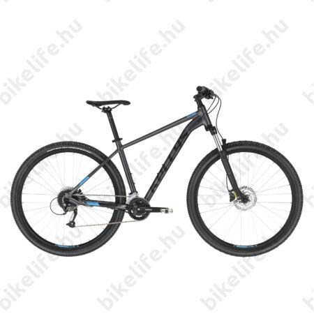 """Kellys Spider 70 Black 29""""-os MTB kerékpár 2x9 fokozatú Shimano Altus váltó, H. DISC, L"""