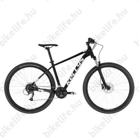 """Kellys Spider 50 Black 29""""-os MTB kerékpár 3x8 fokozatú Shimano Altus váltó, Hidr. DISC, XL"""