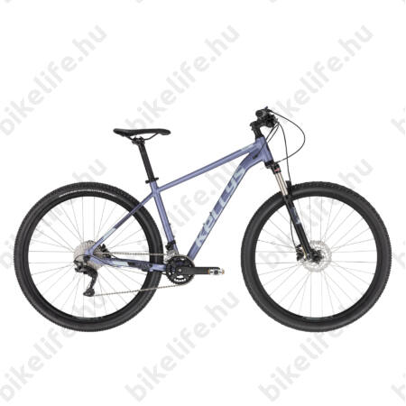 """Kellys Spider 80 Black 29""""-os MTB kerékpár 2x10fokozatú Shimano Deore váltó, DISC, SR XCR teleszkóp, M"""