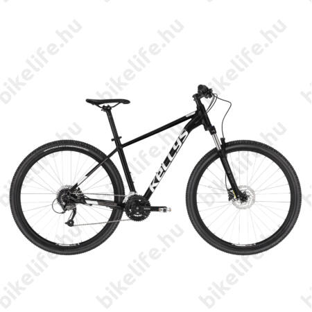 """Kellys Spider 50 Black Blue 2019 29""""-os MTB kerékpár 27fok. Shimano Acera váltó, DISC, L/21"""""""