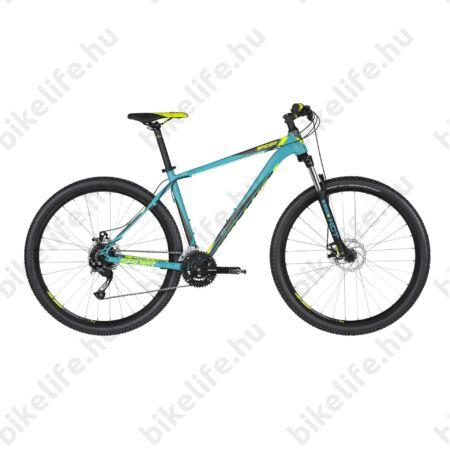 """Kellys Spider 10 Turquoise 2019 29""""-os MTB kerékpár 24fok. Shimano Altus váltó, mech. DISC, M/19,5"""""""
