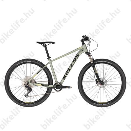 """Kellys Spider 90 Green 29""""-os MTB kerékpár 1x12fokozatú Shimano Deore váltó,DISC, SR XCR tel., S"""