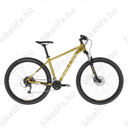 """Kellys Spider 70 Yellow 29""""-os MTB kerékpár 18 fokozatú Altus váltó, H. DISC, L"""