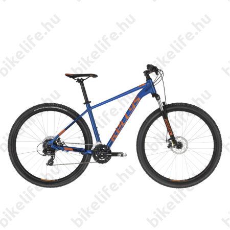 """Kellys Spider 30 Blue 29"""" MTB kerékpár 3x8 fok. TX800 váltó, mech. tárcsafék, SR villa, M"""