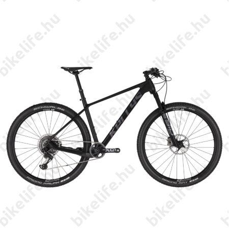 """Kellys Hacker 90 Black Carbon 29""""-os MTB kerékpár, 1x12 fokozatú Sram X01 eagle váltó, Fox tel. M"""