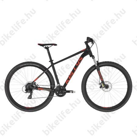 """Kellys Spider 30 Black 29"""" MTB kerékpár 3x8 fokozatú TX800 váltó, mech. tárcsafék, SR villa, XL"""