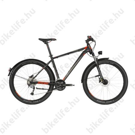 """Kellys Spider 60 Black 2019 29""""-os MTB kerékpár 27fok. Acera váltó, DISC, agydinamó, sárvédő, L/21,5"""""""