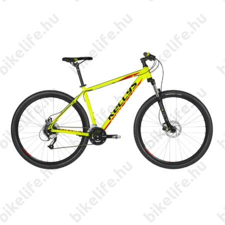 """Kellys Madman 50 Neon Lime 2019 29""""-os MTB kerékpár 24f. Altus váltó, hidr. tárcsafék, M/19"""""""