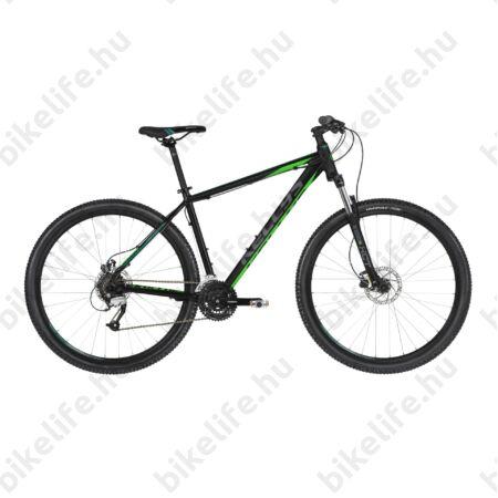 """Kellys Madman 50 Black Green 2019 29""""-os MTB kerékpár 24f. Altus váltó, hidr. tárcsafék, M/19"""""""