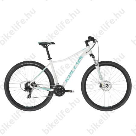 """Kellys Vanity 30 White női MTB 29"""" kerékpár 24 fokozat Shimanop TX800 váltó, Mechanikus Disc M"""
