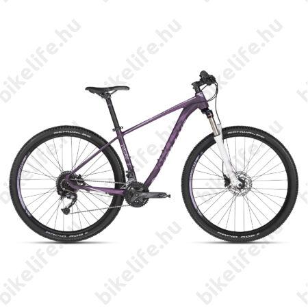 """Kellys Desire 30 2018 29""""-os női MTB kerékpár 3x9 fok. Alivio/SLX váltó, 100mm SR Villa,  17""""/M"""