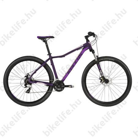 """Kellys Vanity 30 2019 29""""-os női MTB kerékpár 3x8 fok. TY800 váltó, mech. tárcsafék, 15"""""""