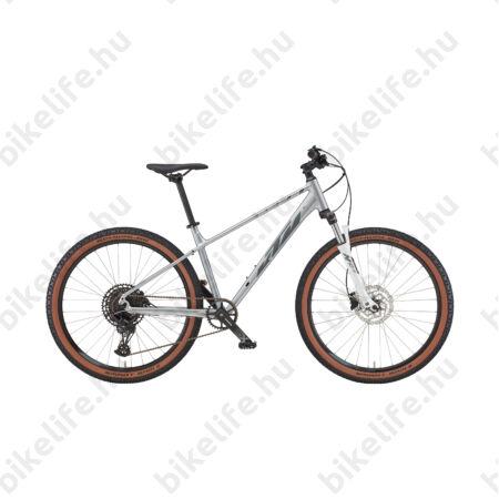 """KTM Ultra Gloriette 27,5""""-os női MTB kerékpár 27 sebességes Deore XT váltó, hidraulikus tárcsafék, mélylila - türkiz M/47cm"""