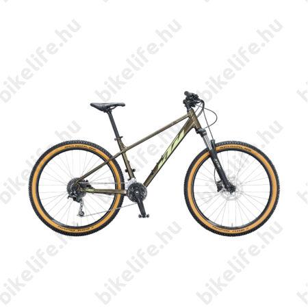 """KTM Ultra Gloriette 27,5""""-os MTB kerékpár 18 fokozatú Shimano Deore váltó, hidraulikus tárcsafék, tölgy, S/37cm"""