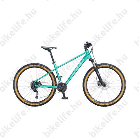 """KTM Penny Lane 27,5""""-os női MTB kerékpár 27 fokozatú Altus váltó, hidraulikus tárcsafék, ocean/mint M/17"""""""