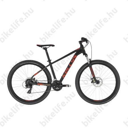 """Kellys Spider 30 Black 27,5""""-os MTB kerékpár 24 fokozatú TX800 váltó, Mech. tárcsafék, M/19,5"""""""