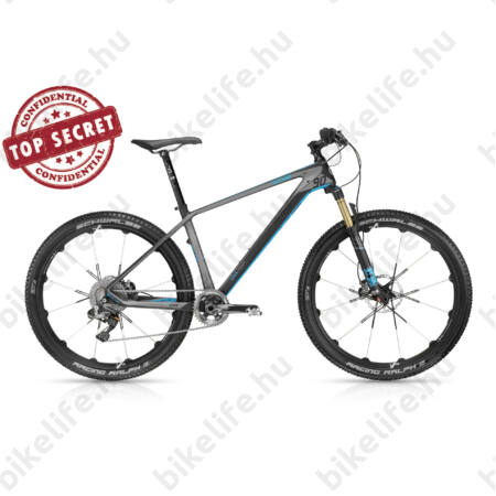 """Kellys Hacker 90 2016 27,5""""-os MTB kerékpár 1x11 sebességes XTR Di2 elektromos váltó, FOX Factory, karbon, M"""
