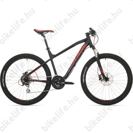 """Rock Machine Heatwave 70 2018 27,5"""" MTB kerékpár 24 fokozatú Shimano Acera váltó és hidraulikus tárcsafék, 19"""""""